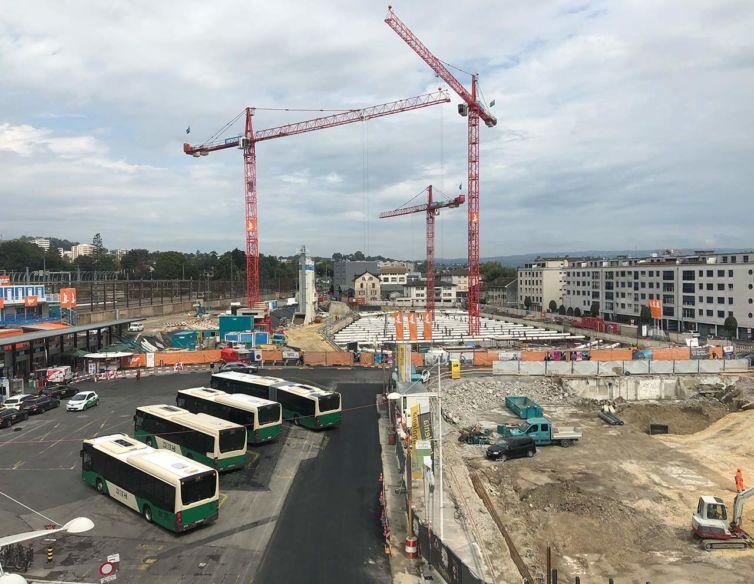 Réaménagement des espaces publics de la gare de Morges
